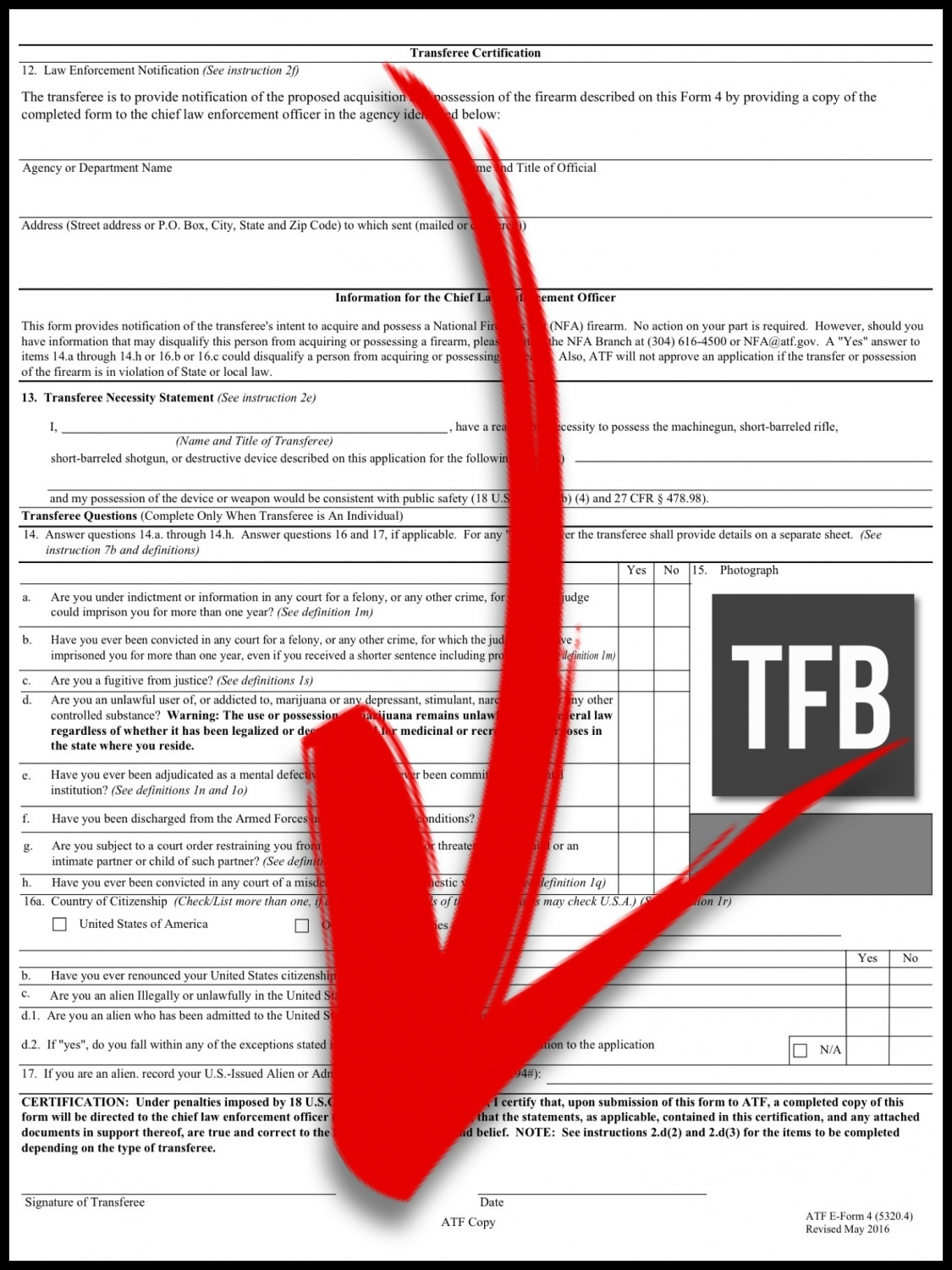 ATF forms