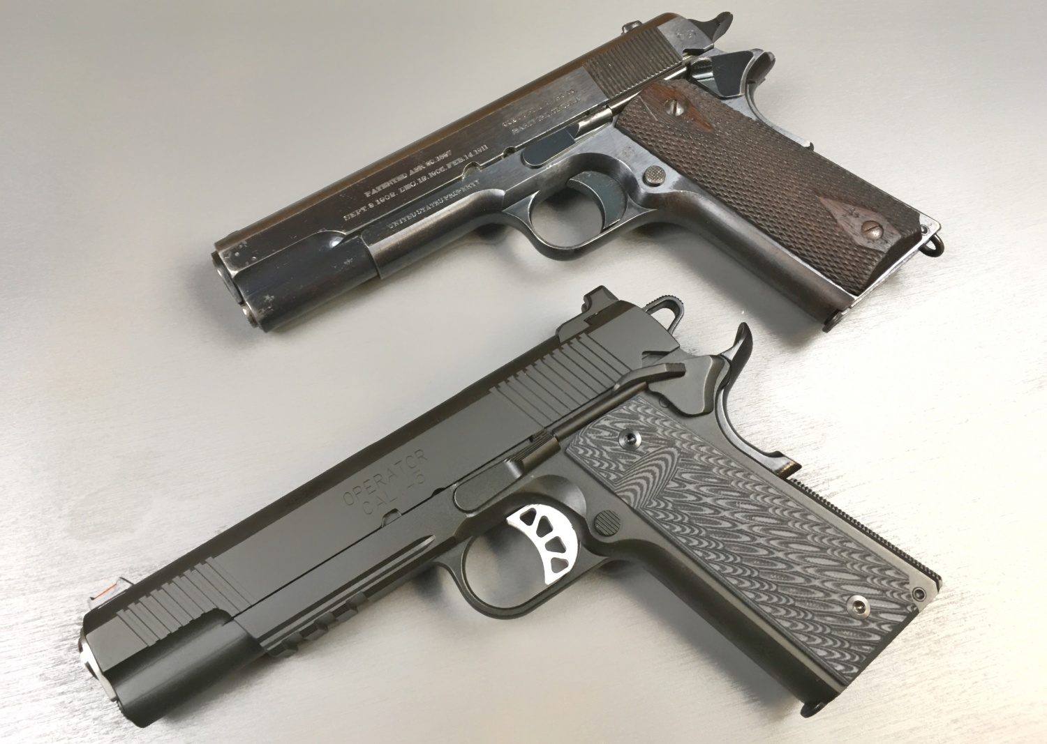 Wwi Colt 1911 Parts Diagram Wiring Diagrams Tfb Review Springfield Armory Range Officer Elite The Combat
