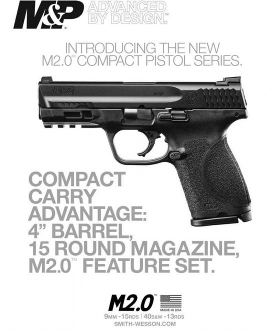 M&P M2.0 Compact Leaked   Smith & Wesson Taking The Glock 19 Head On ...