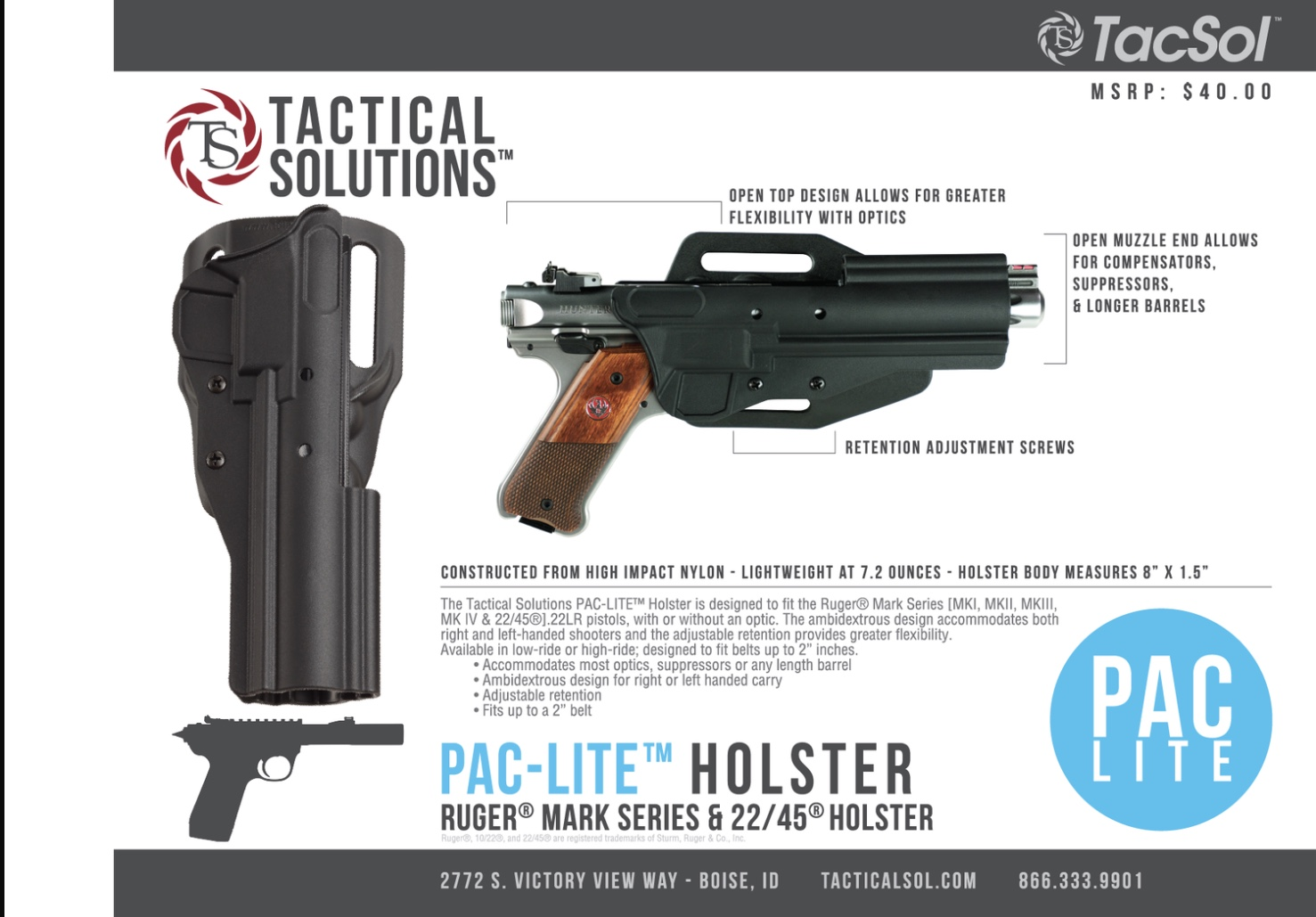 Tactical Solutions Holster