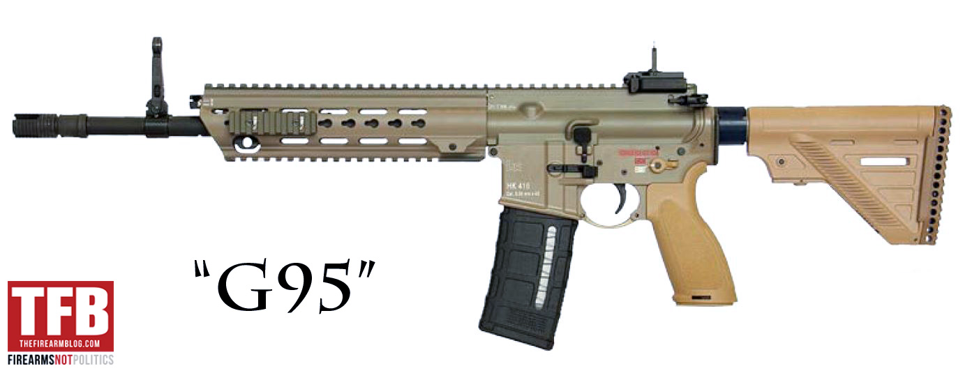 Hk416 A7 To Be Called G95 By The German Special Forces