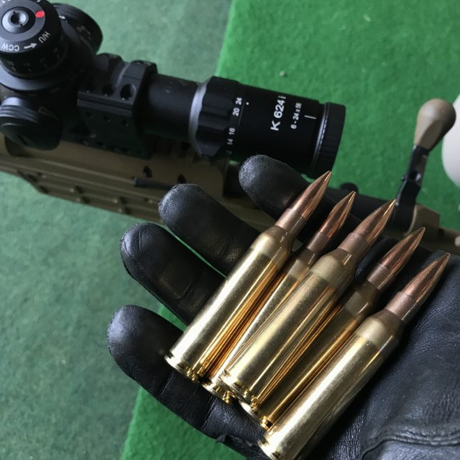 Sub-MOA groupings with the Sako TRG M10 in  308 Win and