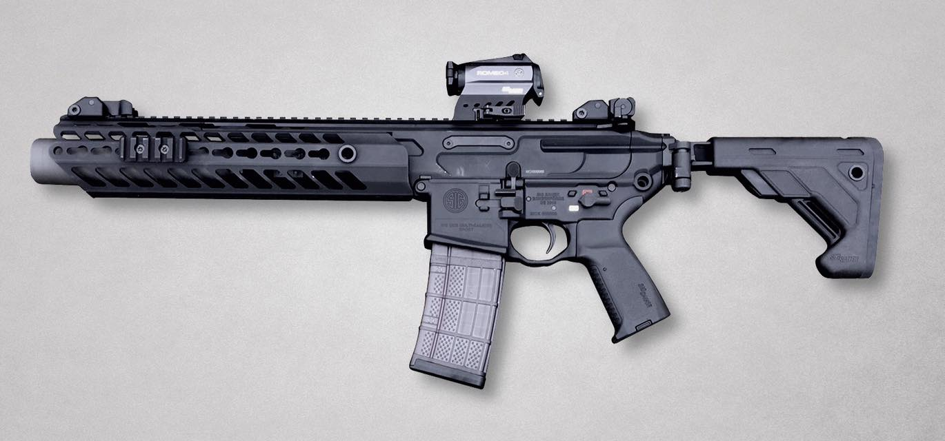 the german police orders hundreds of sig sauer mcx rifles the firearm blogthe firearm blog. Black Bedroom Furniture Sets. Home Design Ideas
