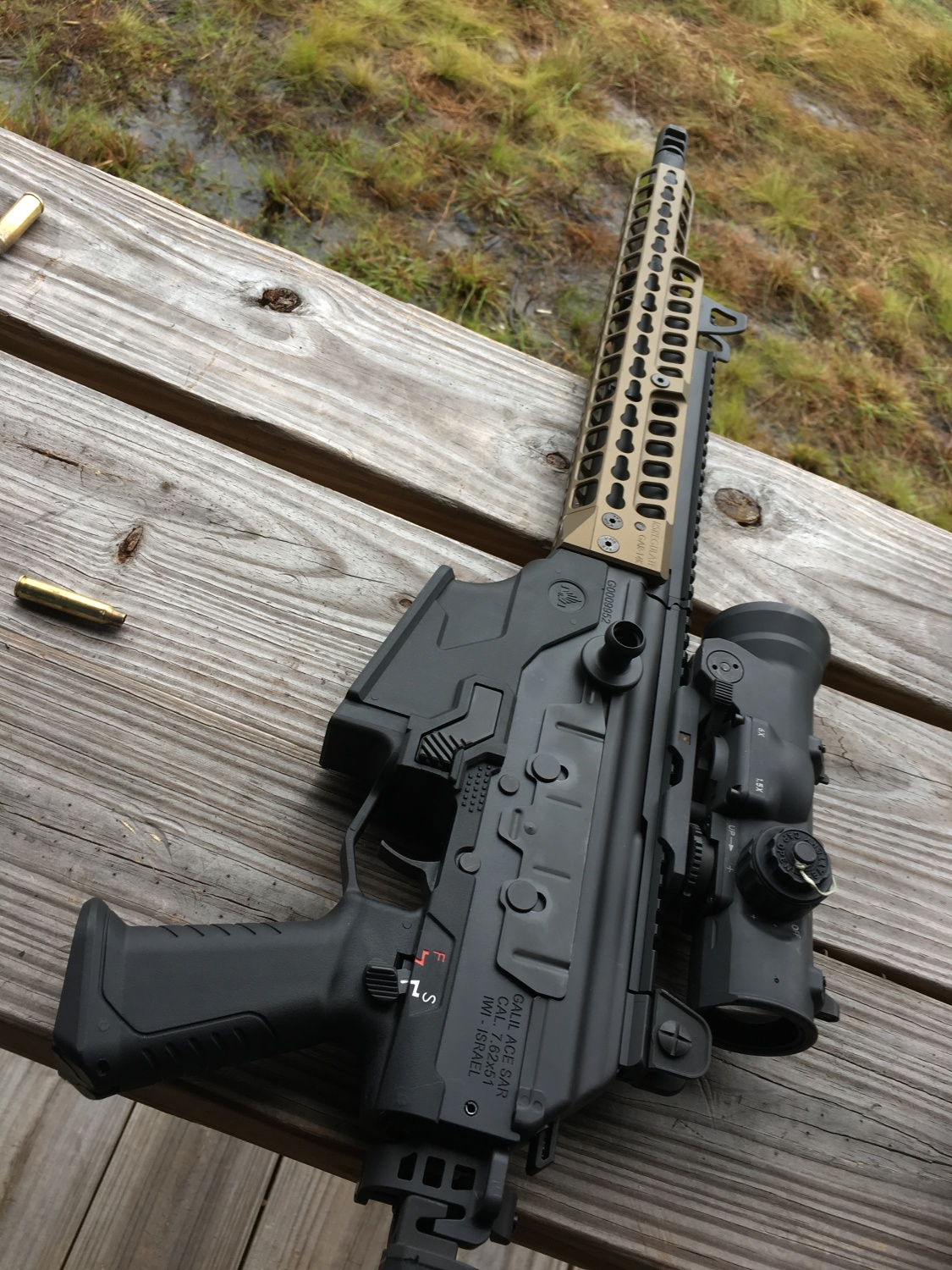 RS Regulate Updates IWI Galil With Handguard - Big 3 East