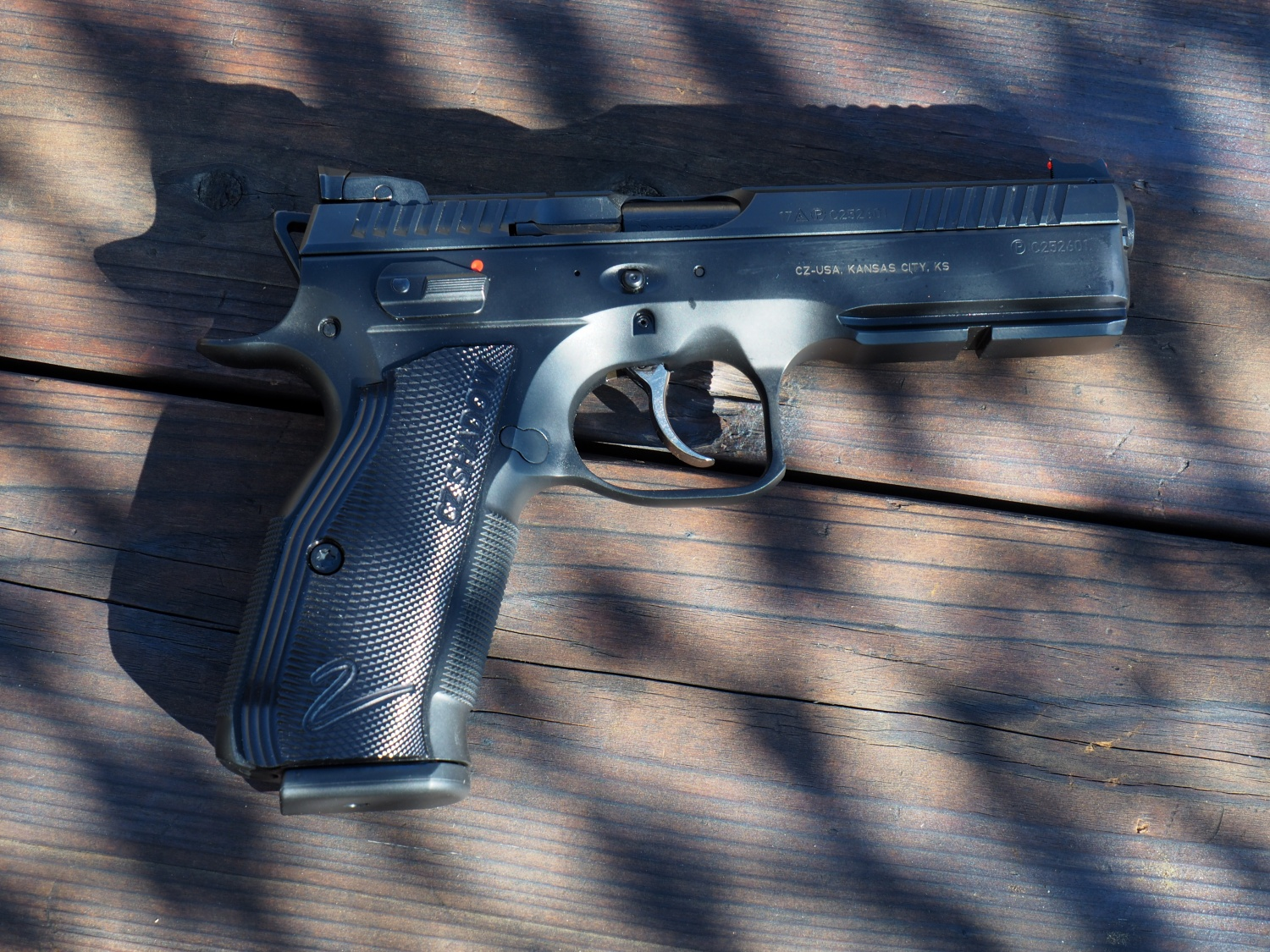 REVIEW: CZ Shadow 2-A Great Competition Pistol Right Out of the Box