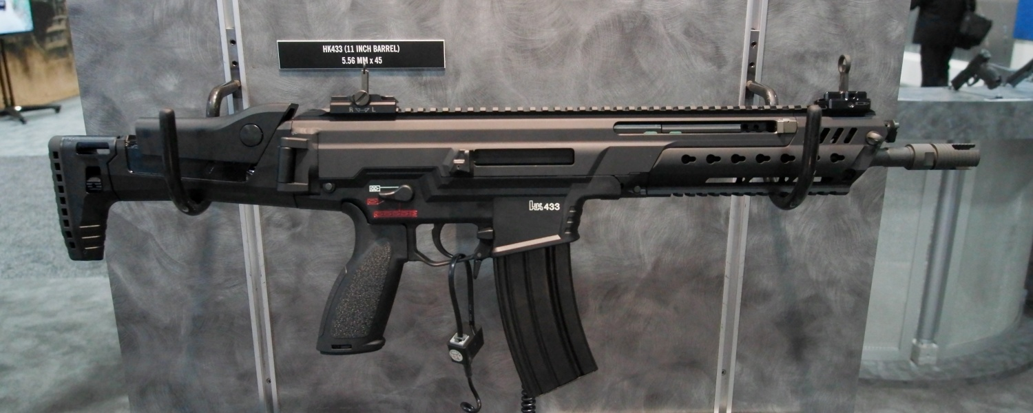 Both Hk416 And Hk433 Submitted To Bundeswehr Rifle Trials