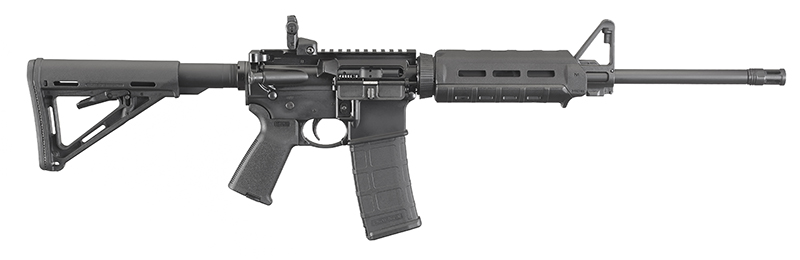 Ruger AR-556 with Magpul