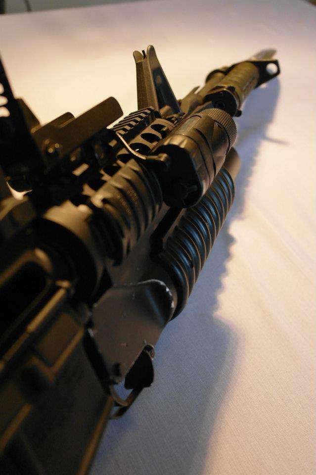 Bayonet Mount in front of M203? One Entrepreneurs Entry -The