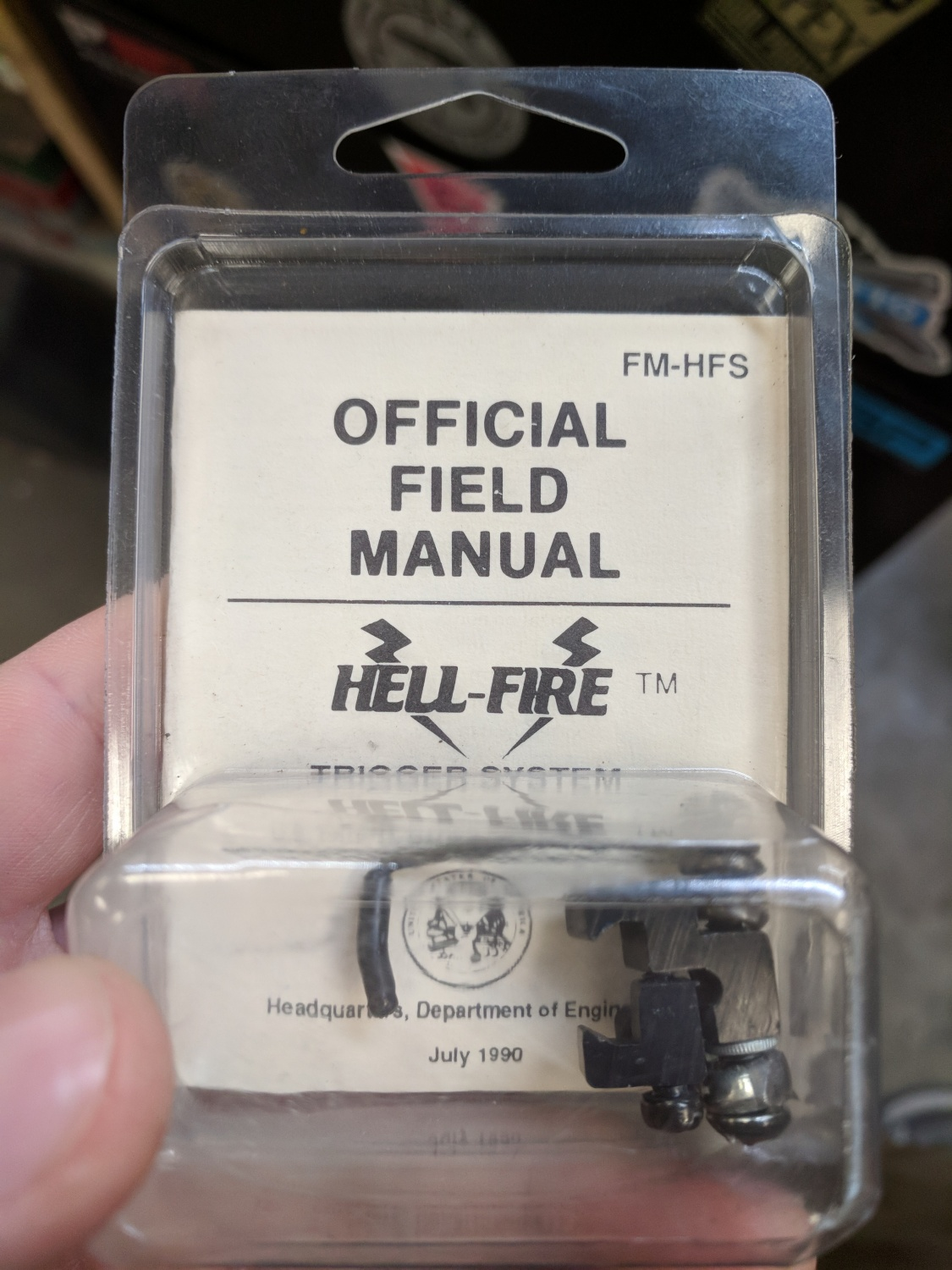 POTD: Blast From The Past: Hell-Fire Trigger System - The Firearm ...