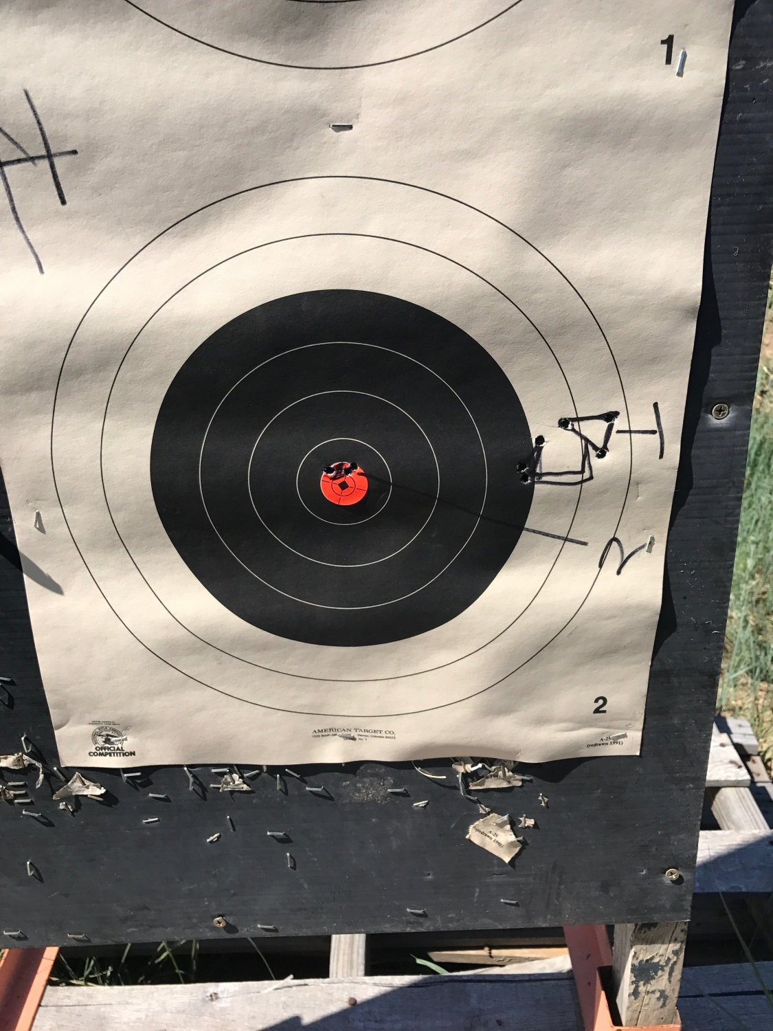 Once I figured out the scope, I was able to dial in pretty quickly.