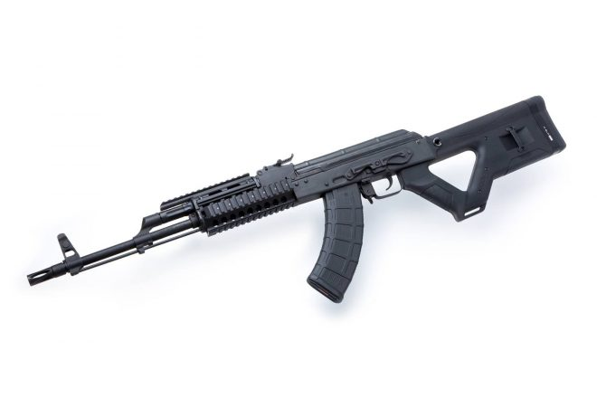 The Hera Arms stock for AK and Restricted front grips -The