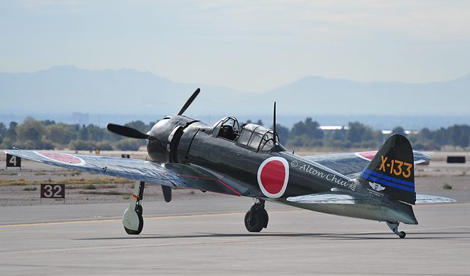 CAF A6M3 Zero Taxiing
