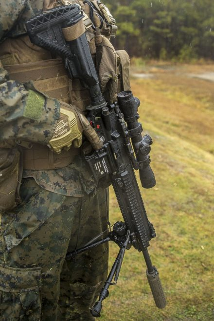 Usmc Fields Heckler Amp Koch M27 As M38 Designated Marksman