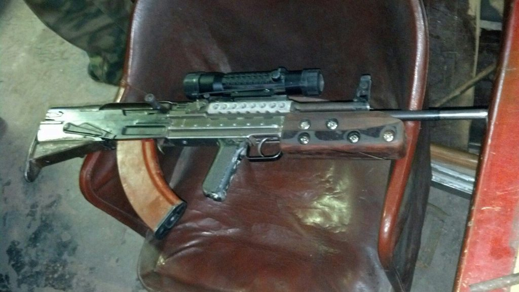 Homemade Firearm Modifications from the Ukrainian Conflict