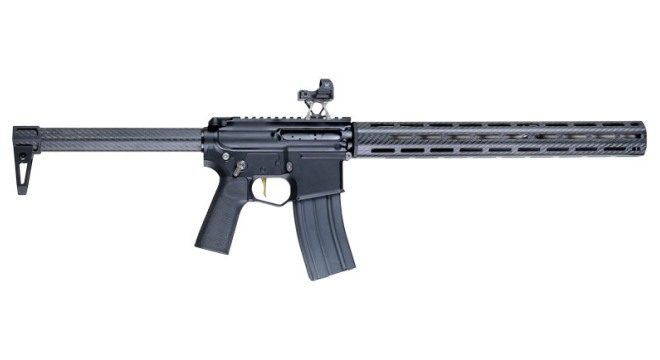 That Is An Unbelievably Low Weight For AR 15 Style Rifle Actually Some Handguns Weigh More Than What Makes The Master Of Arms ENYO Even