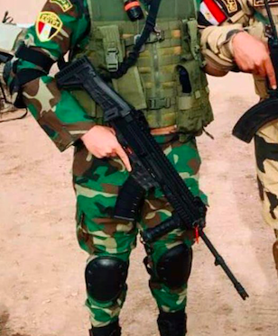 7 62x39mm CZ 807s in use by Egyptian Security Forces