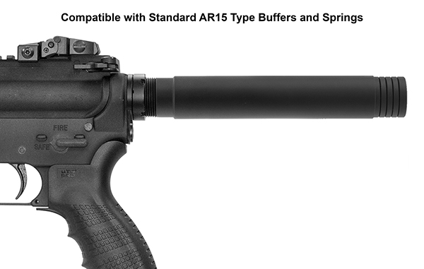 Extended Buffer Tube for AR Pistols -The Firearm Blog