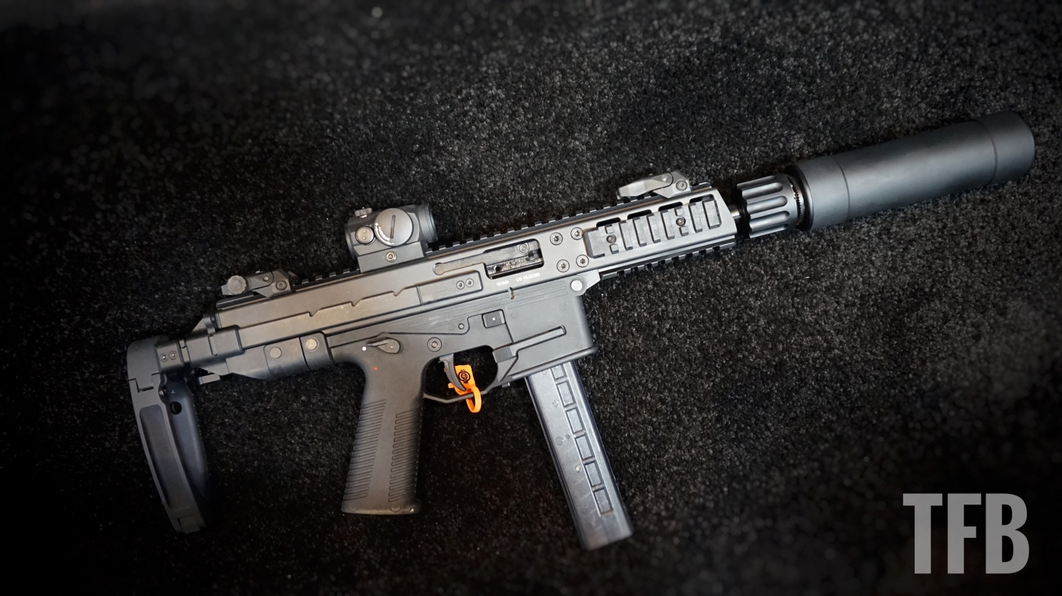 shot 2018 new bampt pistols rifles silencers and