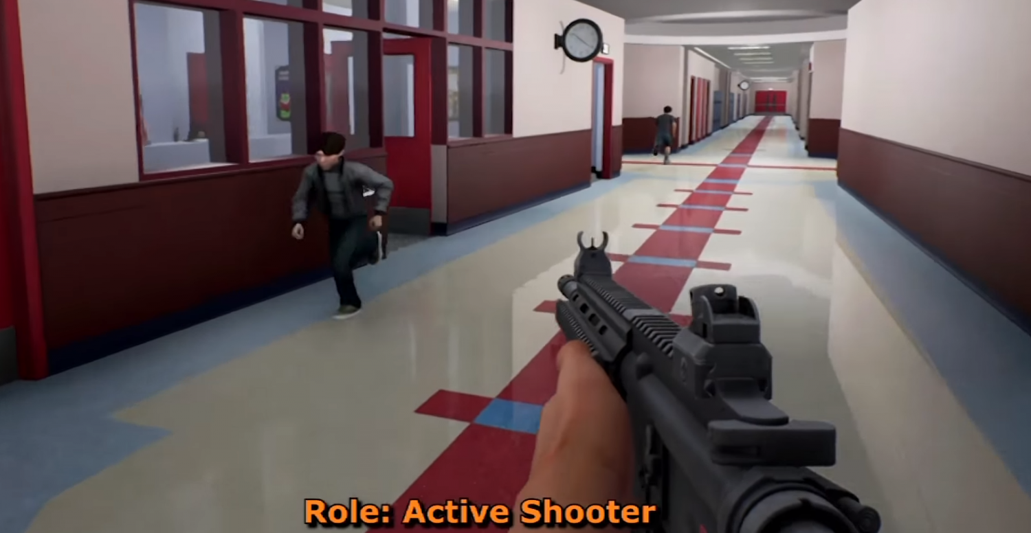 Homeland Security Rolls Out Virtual School Shooter Game