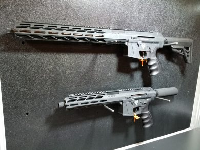 Lone Wolf's PCC available as either a pistol or carbine version.