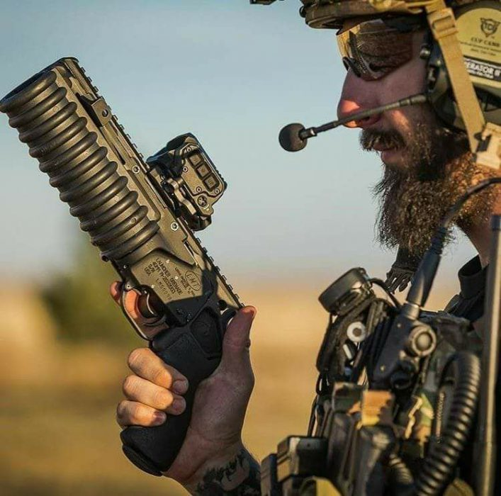 Potd Sawed Off 40mm Hand Cannon The Firearm Blog