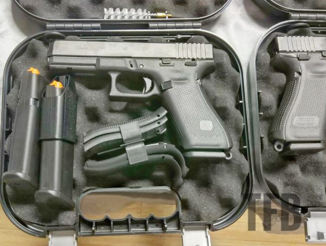 uncovered gen5 glock 22 with manual safety in s o paulo brazil the rh thefirearmblog com Glock 19 Maintenance Manual Glock Manual Safety Review