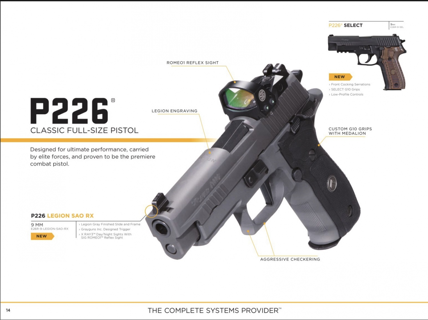 JUST OUT: The Sig Sauer 2018 Catalog Featuring the P320 M17