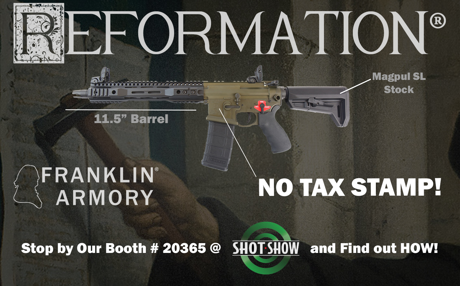 REFORMATION: Franklin Armory Hacks The NFA With NO SBR 11 ...