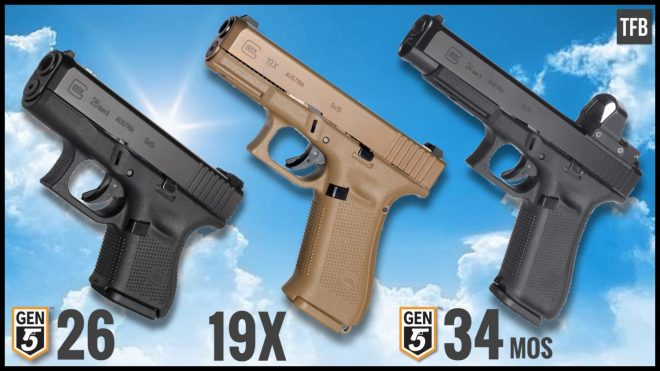 new year new glocks 19x two more gen5s roll out the firearm blog