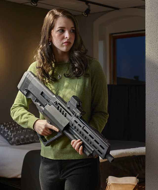 Leaked The New Tavor Ts12 Bullpup Shotgun From Iwi The