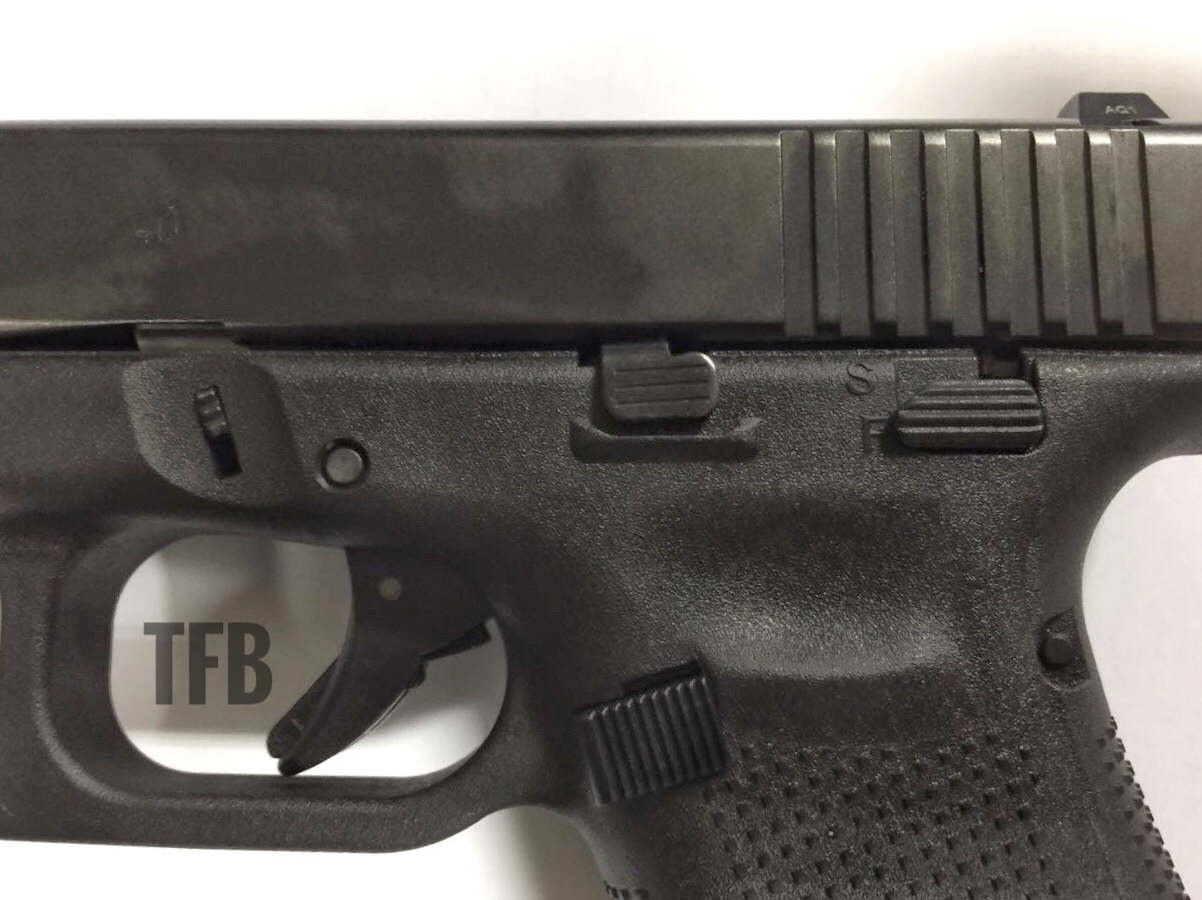 Uncovered Gen5 Glock 22 With Manual Safety In S 227 O Paulo