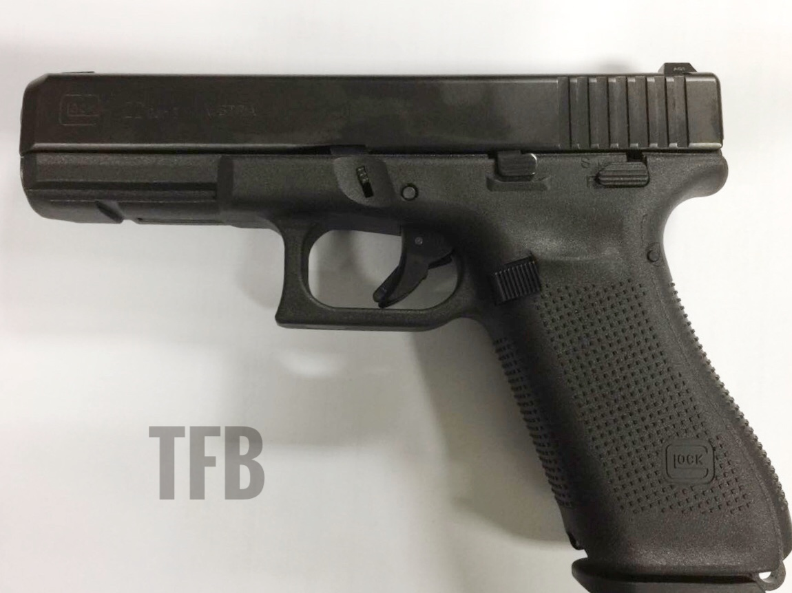 Uncovered Gen5 Glock 22 With Manual Safety In Sao Paulo Brazil The