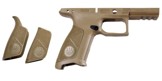New Beretta APX Pistol Frames With No Finger Grooves - The Firearm ...