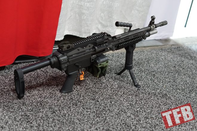 shot 2018] machine gun armory semi auto m249 \