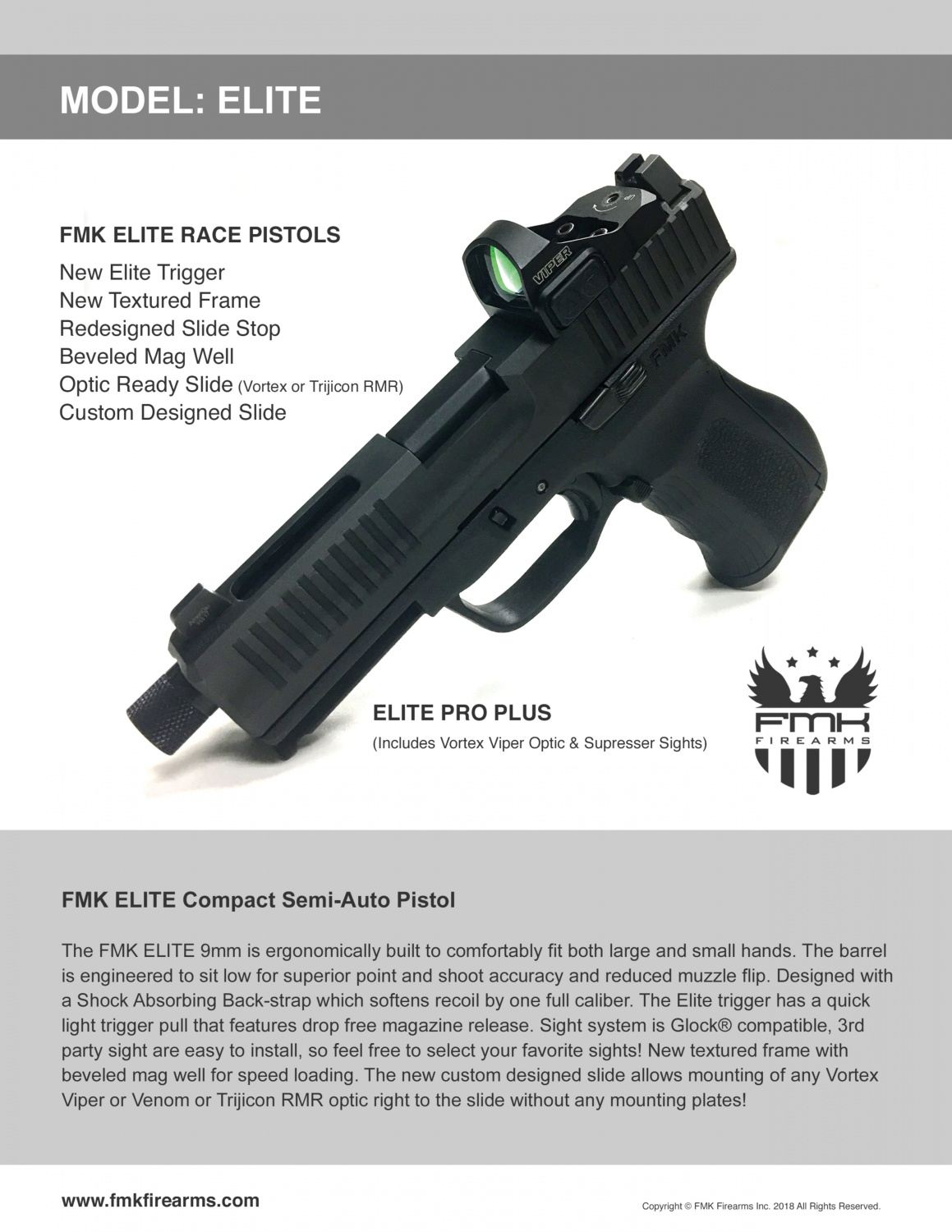 FMK Firearms Releasing NEW Series of Elite Race Pistols -The Firearm