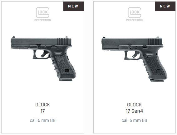 UMAREX Launches the Licensed Airsoft and BB Gun Replicas of GLOCK 42