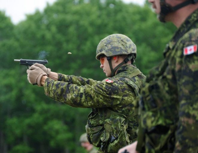 Canadian Army Hi-Power