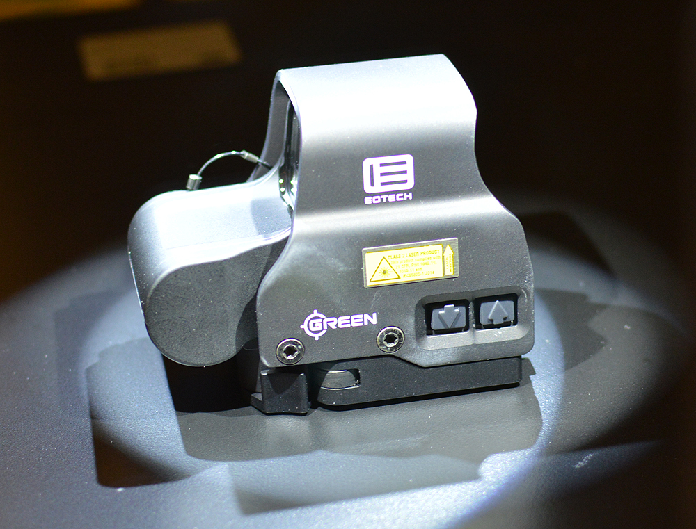 how to change reticle on eotech xps2