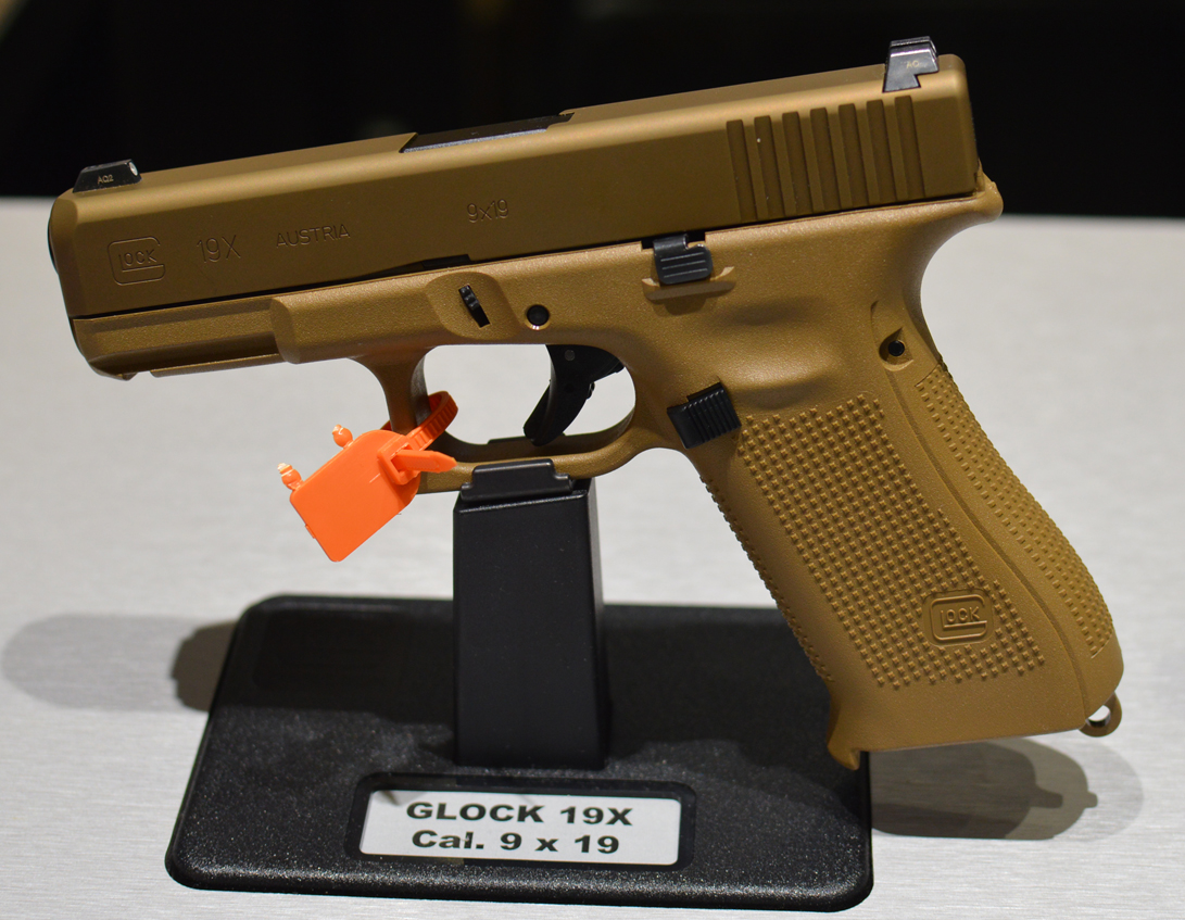 glock 19x flat dark earth