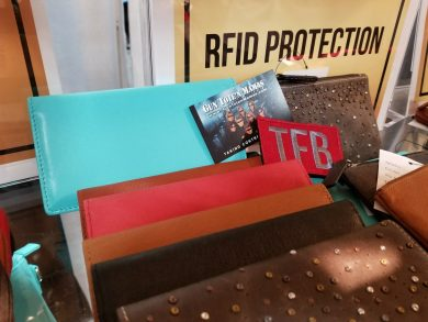 Gun Tote'N Mamas new RFID wallets offer personal protection without needing an entirely new handbag.