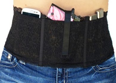 Miss Concealed Hidden Heat Lace Holster