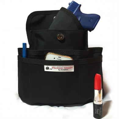 Packin' Neat's purse caddy comes in 4 sizes to accommodate your existing pocketbook of any size.