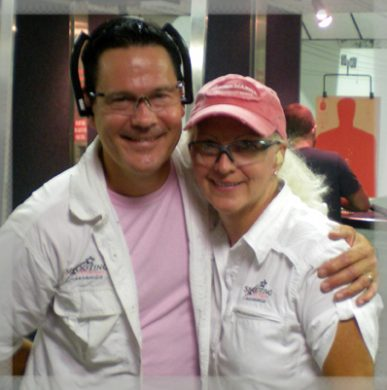 Susan and Jim Rexrode, founders of Shooting for Women Alliance