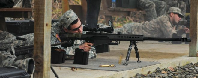 M107 at the range