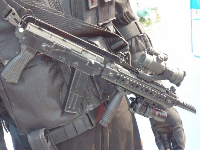 Upgraded Type 79 SMG