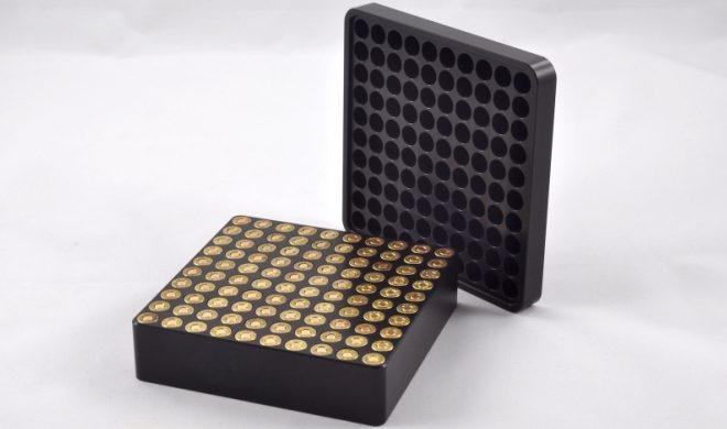 Armanov 9mm Case Gauge Box for 100 Rounds (5)
