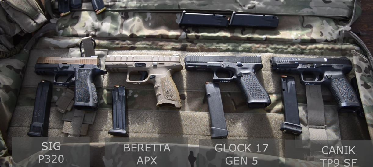 Airsoft Guns Danmark denmark is evaluating a new service pistol for 2019. one down