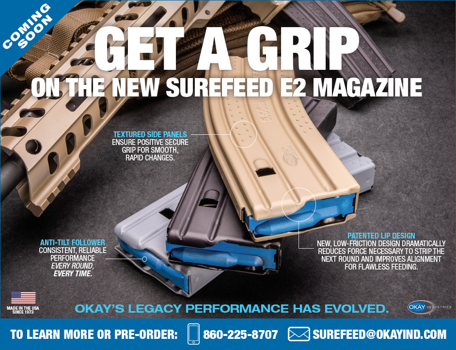New  Ar Magazine From Surefeed With Textured Grip