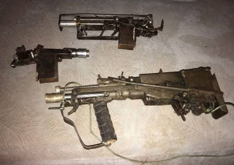 Illegal guns seized in Ukraine