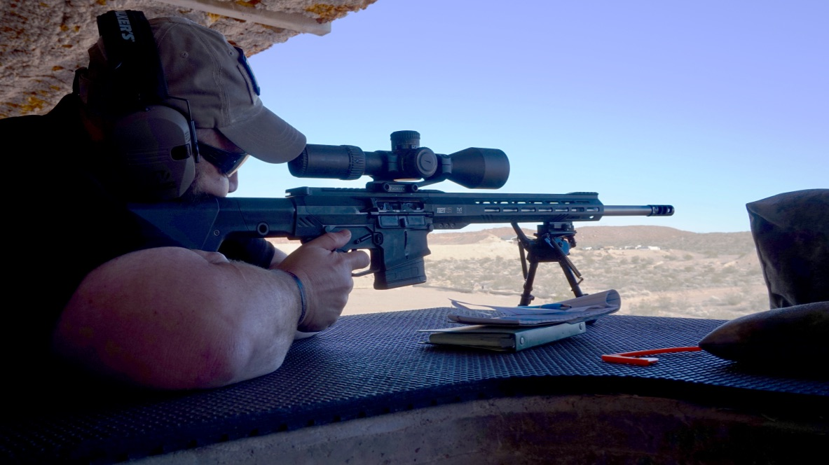 The 1121 is an easy shooting rifle, especially coupled with the Vortex optics. Ignore the fact that I am shooting from a bipod.